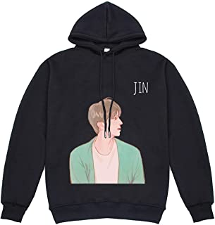 SERAPHY Boy with Luv Hoodie Kpop Fashion Pullover Sweaters Jimin Suga V Jungkook for ARMY