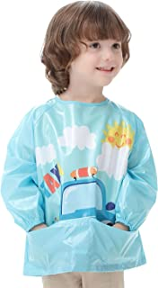 Happy Cherry Babi Infantil Impermeable com Manga Larga de
