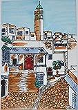 Fliesenbild Keramikfliesen Orientalisch Handbemalt Wandfliesen Mediterran 06 25
