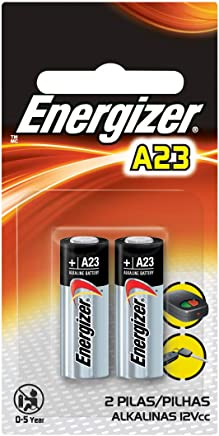 Energizer Zero Mercury Alkaline Batteries A23 2 ea (Packaging may vary)