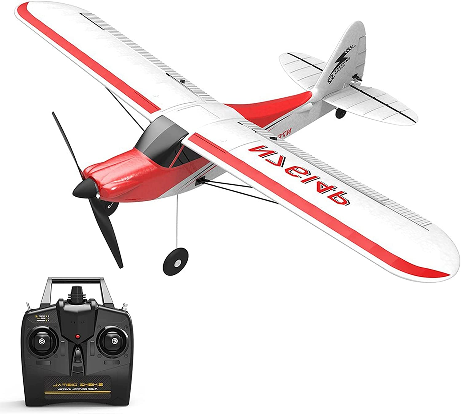 LYBOHO 4 Channel Remote Control Airplane We OFFer at cheap prices Aircr RC Plane OFFicial store Perfect