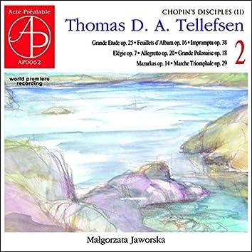 Thomas Tellefsen: Complete Piano Works 2