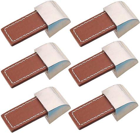 TM FBSHOP 10 pomos para puerta de armario con forma de concha y tirador para caj/ón de armario//armario amarillo