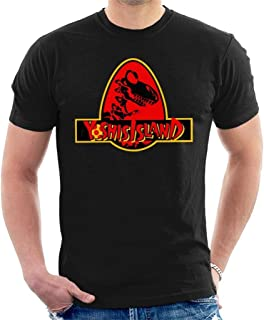Super M-Ario Yoshis Island Jurassic Park Mix Men's T-Shirt