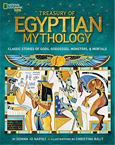 Treasury of Egyptian Mythology: Classic Stories of...