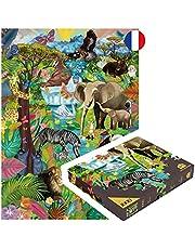 Puzzle 1000 pièces Adultes FABRIQUÉ en France Jeu Zen éco-Responsable Jigsaw Grand Format