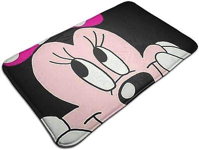 Lavage//s/échage en Machine Douche et Salle de Bain Mickey Love Minnie 40 x 60 cm Tapis de Sol pour Baignoire Extra Doux et Absorbant Yang Tapis de Salle de Bain