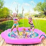 Dsqcai Kinder Spielen Strandspielzeug Sommerkinder Im Freien Wassersprühmatte Rasen Rasen Strandspiel Sprinklermatte