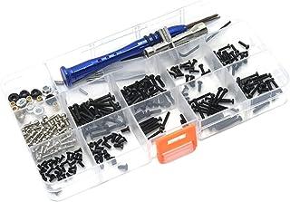 Amagogo Kit de vis RC Bricolage Assortiment d'outils pour WLtoys échelle 1:18 A949 K929 Accessoires de Voiture modèle avec...