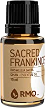 Rocky Mountain Oils - 100% Pure Sacred Frankincense Essential Oil - Promotes Healthy Function of Immune System, and Soothes Skin Irritation; Best For Diffusion and Topical Application - 15 ml