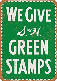 Best we give green stamps sign Reviews
