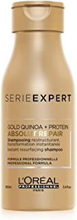 LOréal - Champú de serie profesional Absolut Repair con Gold Quinoa y proteínas 100 ml