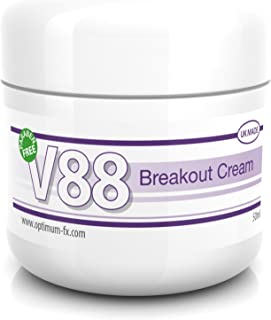 V88 Crema Para Brotes Con Ácido Salicílico Para Granos Puntos Negros Imperfecciones y Piel Problemática SIN Parabenos 50 G...