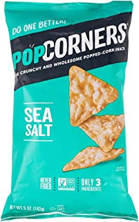 Popcorners Sea Salt Popped Corn Chips, 5 oz