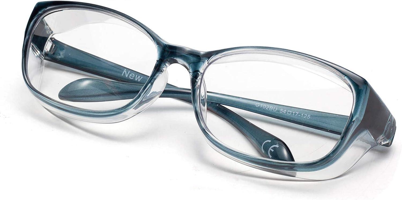 LianSan Anti-Fog Anti-Glare Safety Glasses Light UV400 HD Blue B Recommendation Raleigh Mall