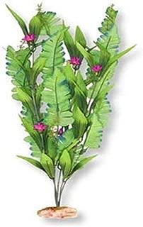 Vibran-Sea Flowering Sword Leaf Silk-Style Aquarium Plant, Large 13-14 Tall, Green