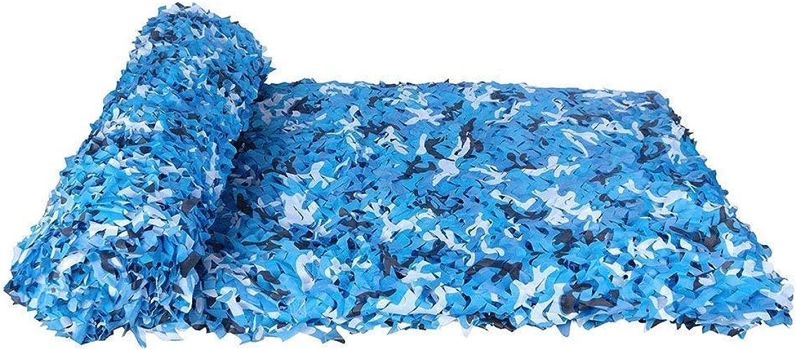 Filet de camouflage parasol multi-usage Mode Marine Camouflage Net Camping Caché Camping Tente Thème Party Car Couverture De Camouflage Couverture Multi-taille En Option (Taille  3  3m) Bache AI LI W