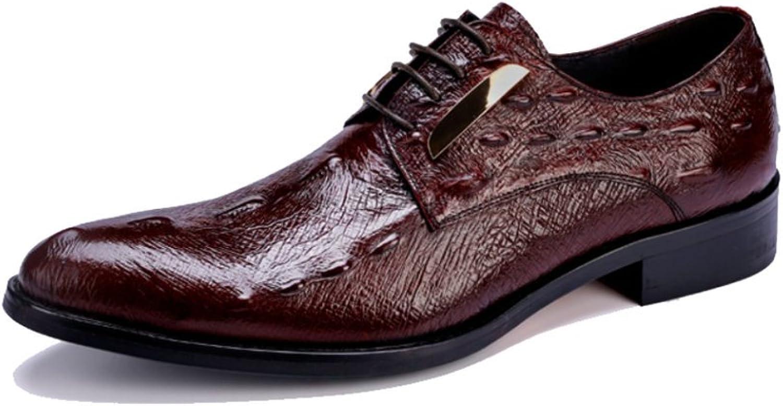 NIUMJ NIUMJ NIUMJ Mann's läder skor Formal skor Business läder skor British Mans Casual skor  detaljhandel