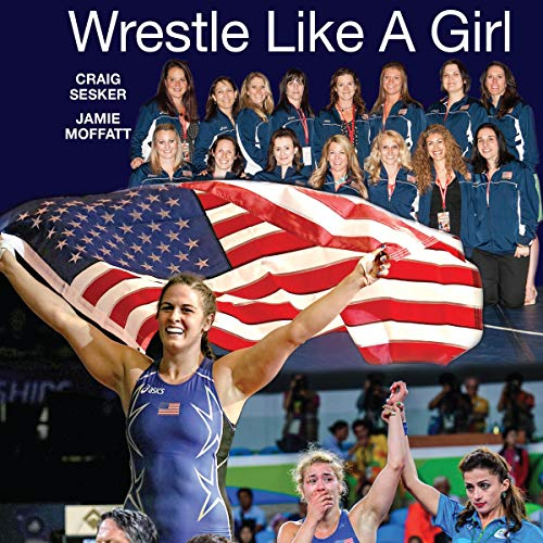 Wrestle Like a Girl audiobook cover art