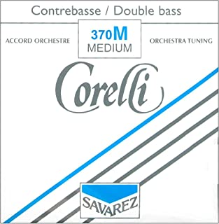 Corelli Orchestral Tungsten Series Double Bass String Set 3/4 Size Medium Ball End
