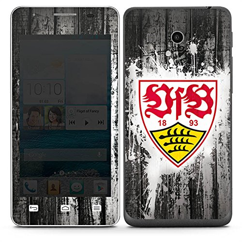 DeinDesign Huawei Ascend G525 Folie Skin Sticker aus Vinyl-Folie Aufkleber VfB Stuttgart Fanartikel B&esliga Fußball