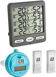 TFA Dostmann Klima Monitor Plus TFA 30.3054.plus Station thermomètre-hygromètre sans fil avec émetteu...