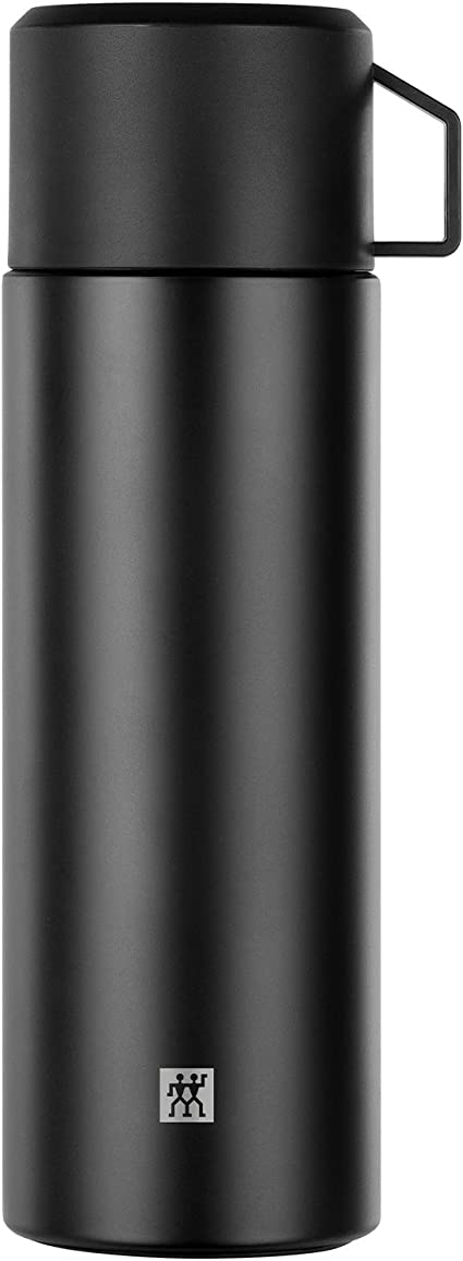 Amazon.com | Zwilling 1007756 Vacuum Flask 1 Litre Black, 18/8 stainless  steel: Flasks