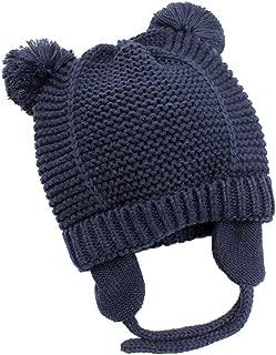 Linda Garra ni/ños de la orejera durable del beb/é del invierno con orejeras mantener caliente con felpa de caf/é