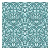 Vinilo Adhesivo para Muebles y Pared, 45 x 200 cm, Color Turquesa, VNL-024