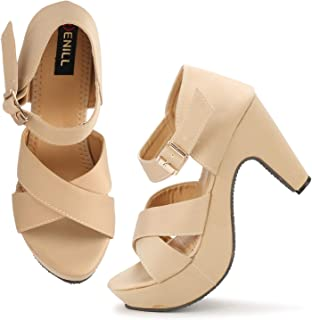 Denill Comfortable, Block Heels for Womens and Girls