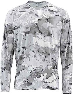 Simms Solarflex UPF 50+ Crewneck, Long Sleeve Fishing Shirt