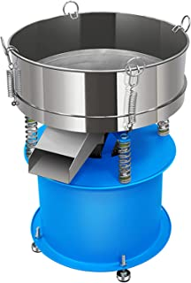 YUCHENGTECH Tamis Vibrant électrique Machine de tamisage Vibrant Tamis à Poudre Automatique Machine de criblage de Poudre ...