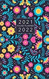 2021-2022 Pocket Planner: Floral Colorful Cover | Two Year Monthly Planner 2021-2022 5x8 Small Size | 2 Year Pocket Calendar | Appointment Notebook | ... Office Planning Organizer Agenda Schedule