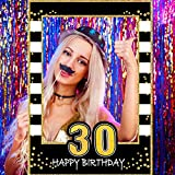 Adult 30th Birthday Selfie Photo Booth Frame...