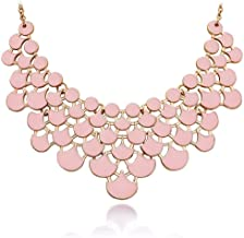 Best blush pink necklace Reviews