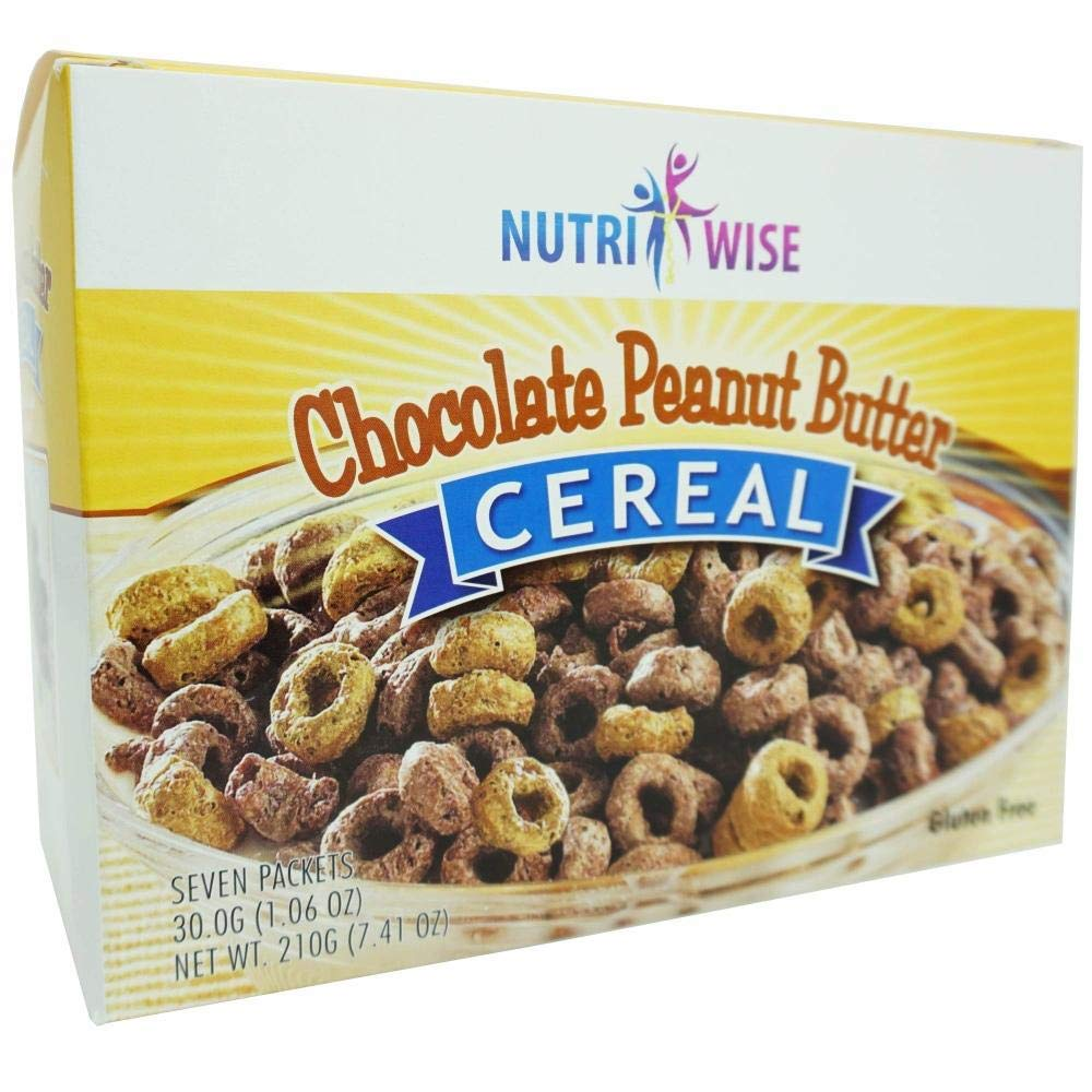 NutriWise - Chocolate Peanut Butter Healthy Year-end gift Box Cereal Cheap sale Delic 7