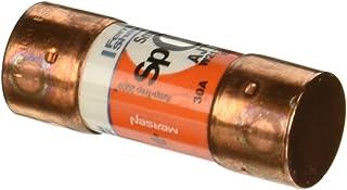 "Mersen AJT Amp-Trap 2000 SmartSpot Time-Delay/Class J Fuse with Maximum Circuit Protection, 600VAC/500VDC, 200kA AC/100kA DC, 30 Ampere, 13/16"" Diameter x 2-1/4"" Length"