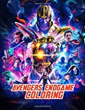 AVENGERS Endgame: Coloring Book Super heroes fans Design to Color Great Infinity ,Connect The Dots Book For Kids, Girls, Boys