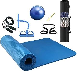 Lixada Esterilla de Yoga Antideslizante NBR Material