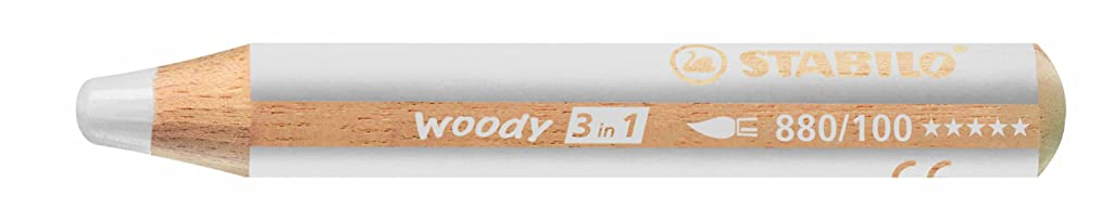 Stabilo STABILO Woody 3 in 1, White