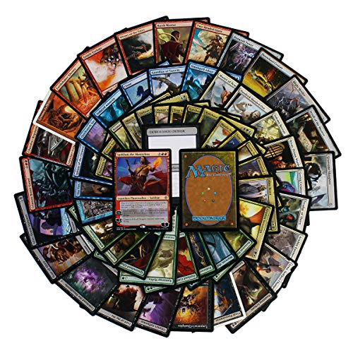 Cosmic Games 61 Magic the Gathering Rares Collection | 61 Assorted MTG Gold Symbol Rare Cards + 1 Planeswalker | Includes Huge Variety from Several Expansions | Great Mix of Colors, Spells & Creatures