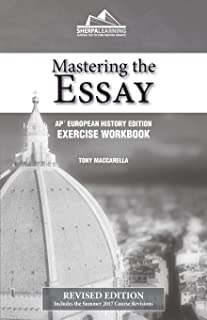 Mastering the Essay - AP* European History Edition - Exercise Workbook
