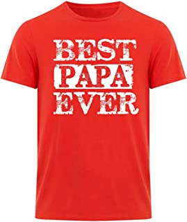 fresh tees Best Papa Ever T-Shirt Father's Day Shirt papa Tshirt Gifts for Grandpa