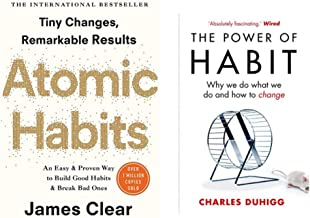 Atomic Habits + The Power of Habit (The Book which can transform your businesses and Your life)