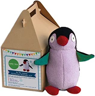 Cate & Levi - Stuffed Animal Making Kit - Unique Child Gift - Machine Washable (Penguin)
