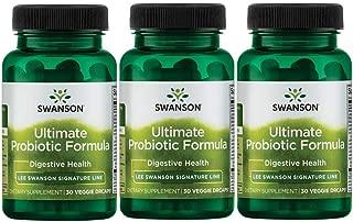 Lee Swanson Signature Line Ultimate Probiotic Formula 3-Pack 66 Billion Cfu 3-30 ct bottles Veg Drcaps