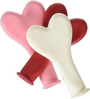Pioneer Balloon Company Sweetheart Heart Shaped Latex Balloon, 6