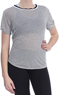 Womens Zephyr Open Back Short Sleeves T-Shirt