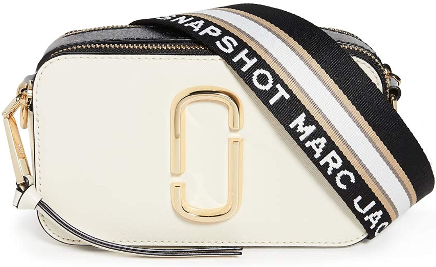 The Marc Jacobs Women's Snapshot Camera Bag, New Cloud White Multi, One Size