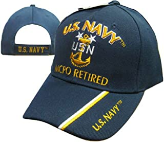 Wildbill's U.S. Navy Master Chief Petty Officer Retired Cap